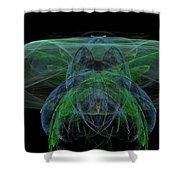 Large Jelly Fish Shower Curtain