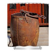Large Mining Bucket Shower Curtain