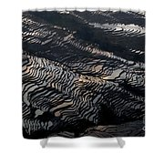 Large Scale Of Rice Terrace Shower Curtain