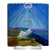 Lark Ascending Shower Curtain