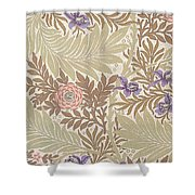 Larkspur Design Shower Curtain