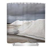 Las Coloradas Salt Flat Shower Curtain