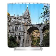 Las Lajas Sanctuary Shower Curtain