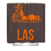 Las Las Vegas Airport Poster 1 Shower Curtain