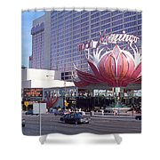 Las Vegas 8 Shower Curtain