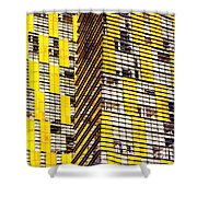 Las Vegas Abstract Shower Curtain