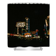 Las Vegas Lights2 Shower Curtain