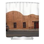 Las Vegas New Mexico Church Shower Curtain