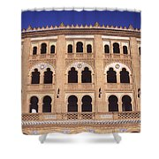 Las Ventas Bullring Madrid Shower Curtain