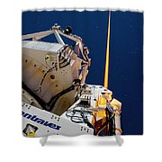 Laser Guide Star Shower Curtain
