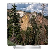 Lassen Volcanic Shower Curtain