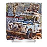 Lasseter Land Rover Shower Curtain