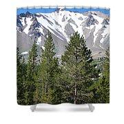 Lasson Peak 2 Shower Curtain