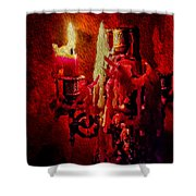 Last Candle Shower Curtain