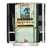 Last Cigarette Palm Springs Shower Curtain
