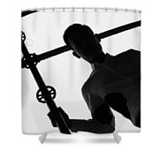 Last Days Out  Shower Curtain