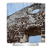 Last Fortress Shower Curtain