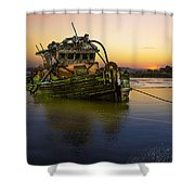 Last Light Shower Curtain