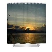 Last Light Shower Curtain