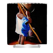 Last Of The Stew Shower Curtain
