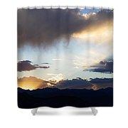 Last Rays 2 Shower Curtain