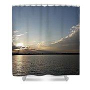 Last Rays Of The Sun Shower Curtain