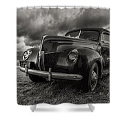 Last Ride  Shower Curtain