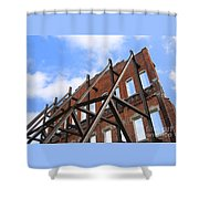 Last Wall Standing Shower Curtain