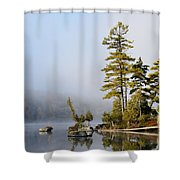 Last Warmth Shower Curtain