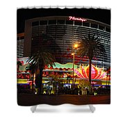 Las Vegas - The Flamingo Panoramic Shower Curtain