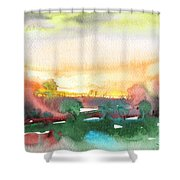 Late Afternoon 59 Shower Curtain