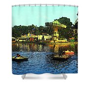 Late Afternoon At The Fair Shower Curtain