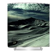 Late Afternoon In The Mountains  Shower Curtain