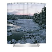 Late Afternoon In Winter Shower Curtain