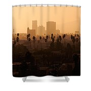 Late Afternoon Over Hollywood Shower Curtain