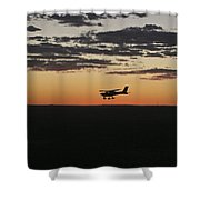 Late Afternoon Shower Curtain