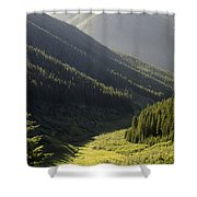 Late Afternoon Shroud Shower Curtain