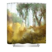 Late Autumn Chill Shower Curtain