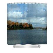 Late Autumn Splendor Shower Curtain