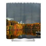 Late Autumn Storm Shower Curtain