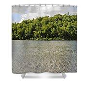 Late Evening On Lake Winfield Scott Shower Curtain