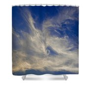 Late Evening Sky Shower Curtain