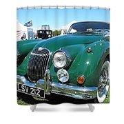 Jaguar Xk-150 Shower Curtain