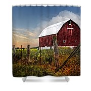 Late Summer Shower Curtain
