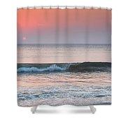 Late Summer Sunrise Shower Curtain