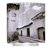 The Alleys Of Cuzco Shower Curtain