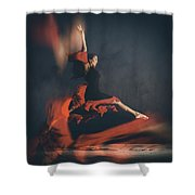 Latin Dancer Shower Curtain by Stelios Kleanthous