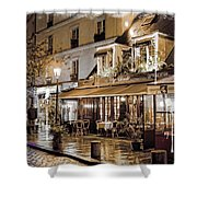 Latin Quarter In Copper Shower Curtain