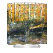 Latini At Rest In Mgarr Harbour Gozo Shower Curtain