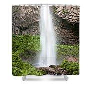 Latourell Falls II Shower Curtain